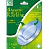 A&E Assorted Blister Plasters 4's