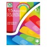 A&E Assorted Coloured Plaster 15's