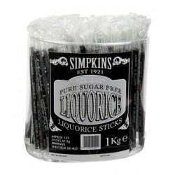 Liquorice Sticks  (125 Sticks)