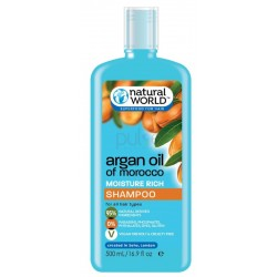 Natural World Argan Oil Shampoo 500ml