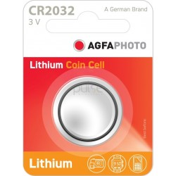 AGFA Lithium Batteries Size CR2032 - 3v